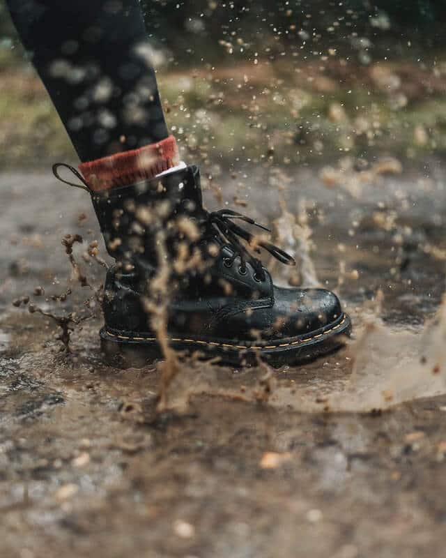 Dry your boots